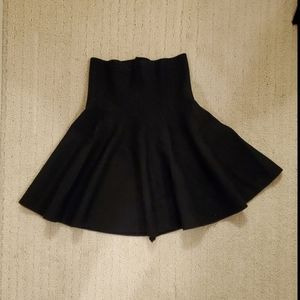 ❤2/15$❤ NWOT Knit Black Skater Skirt